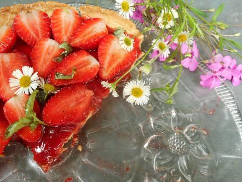 tarte fraises basilic 4