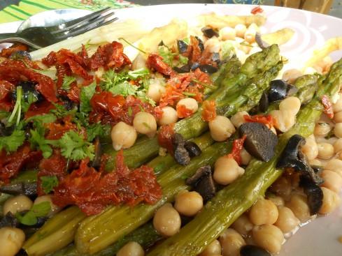 salade asperges à l'orientale. 3