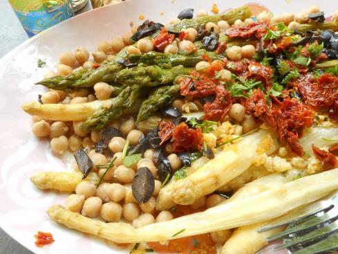 salade asperges à l'orientale 6