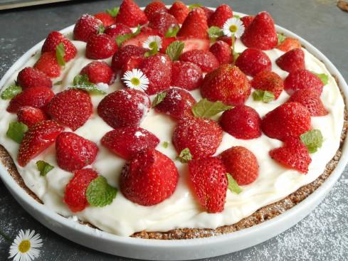 tarte fraises mascarpone citron sans cuisson. 3
